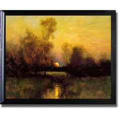 Classic execution of the landscape translates into a stunning canvas. This artist-grade canvas is UV coated to prevent fading and includes a ready to hang satin black frame. Artist: Dennis Sheehan Tit