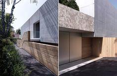Concrete and wood.  2 Verandas House in Switzerland by Gus Wüstemann Architects