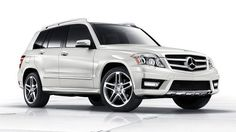GLK 350. Currently a little obsessed with this cute Benz. And it's affordable, but so small.