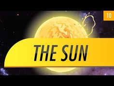 The Sun: Crash Course Astronomy #10 by thecrashcourse: Phil takes us for a closer (eye safe!) look at the two-octillion ton star that rules our solar system. We look at the sun's core, plasma, magnetic fields, sunspots, solar flares, coronal mass ejections, and what all of that means for our planet. Support at: http://patreon.com/crashcourse