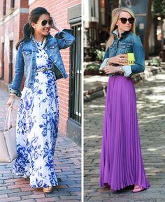 9Ideas para vestidos largos que lucen más seductores que los cortos