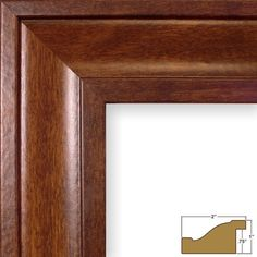 Craig Frames 76031 22 by Picture Frame Smooth Finish Wide Rich Walnut Brown * Learn more home decor by visiting the image link.