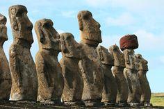 Welcoming Committee (Toongariki - Easter Island)