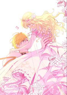 """♡Athanasia and Claude♡ """"Princesa encantadora"""" """"Who made me a princess"""" Chica Anime Manga, Manga Girl, Kawaii Anime, Beautiful Anime Girl, Anime Love, Anime Guys, Days Manga, Familia Anime, Animes Yandere"""