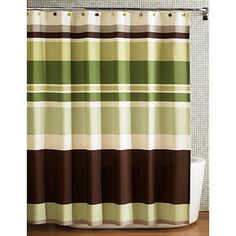 Better Homes and Gardens Galerie Decorative Bath Collection - Shower Curtain