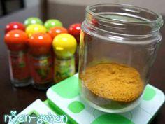 カレー粉(スパイス配合例)