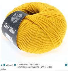 Lana Grossa Cool Wool 100 % шерсть мерино экстрафайн 160 м /50 г Спицы 3.0-3.5 мм 101.95 грн.