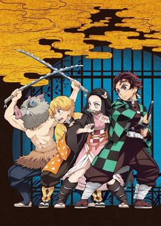 The official website for the television anime adaptation of Koyoharu Gotouge's Demon Slayer: Kimetsu no Yaiba manga began streaming a commercial on Tu. Otaku Anime, Manga Anime, Comic Manga, Anime Demon, Anime Art, Demon Slayer, Slayer Anime, Animation, Ecchi