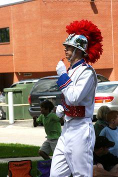Marching Band Major.
