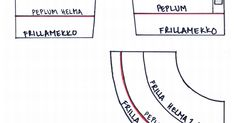 babyborn_kaava_peplumjafrillamekko.PDF Projects To Try, Diagram, Pdf, Chart