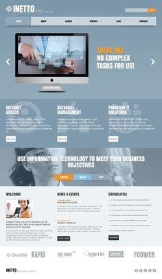 Internet Consultant WordPress Theme