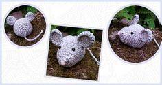 Een gratis Nederlands geschreven haakpatroon van een muis. Kom snel verder naar Haakinformatie voor het haakpatroon van deze lieve kleine muis!