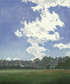 Gretel Postma. woodcut 2012. 59.5 x 50 cm
