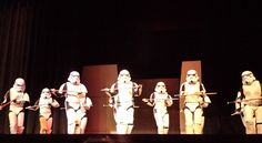 @Jenianne Fortney, tap dancing stormtroopers    I think I'll marry them all.