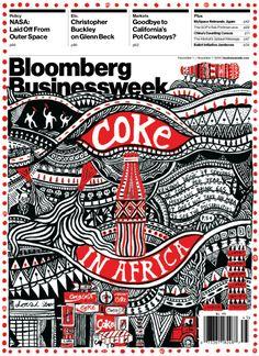 Bloomberg Businessweek #coke #illustration