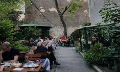 Weinstube Josefstadt: Die versteckte Grünoase im 8.Bezirk - 1000things.at Street View, Travel, Vienna, Austria, Wine Bars, Places, Viajes, Nice Asses, Pictures