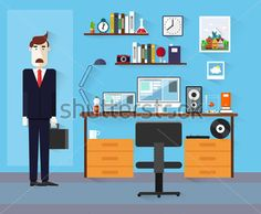 flat-design-modern-design-vector-illustration-office-worker-icon-collection-in-stylish-colors-of-business-work-flow-items-and_216583177.jpg (379×312)