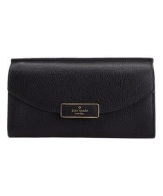 Look at this Black Leather Clutch Leather Clutch, Black Leather, Wallet, Bags, Stuff To Buy, Fashion, Pocket Wallet, Handbags, Moda
