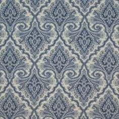 Almazar Paisley Ming by Kasmir Paisley Color, Paisley Art, Paisley Fabric, Blue And White Fabric, Blue Fabric, Paisley Wallpaper, Textiles, Drapery Fabric, Chair Fabric