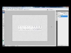 Como fazer gráficos de Crochê com o Photoshop - Parte 01 - YouTube