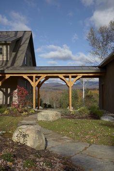 Stowe Vermont Home - contemporary - exterior - burlington - Joan Heaton Architects