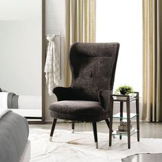 The grandeur of a classic wing chair, meets the clean lines of contemporary design in my new Vernon Wing Chair. http://www.maxsparrow.com.au/products/vernon-wing-back-chair