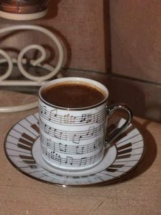 Good coffee is music for my taste buds. ;D LO