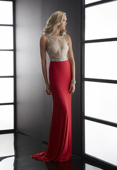 Jasz Couture 5045 amazing cutout and design to this artwork of a bodice #prom2014 #ipaprom #promdress