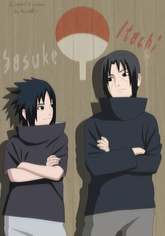 Sasuke and Itachi by KujaEx on DeviantArt