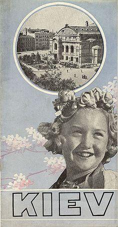 Travel brochure «Kiev» circa 1932. Published by Intourist.
