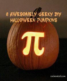 Geeky Halloween pumpkin ideas, from Grumpy Cat to Minecraft.