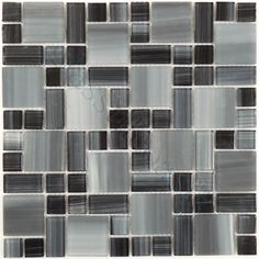Quest  Handicraft Series, Unique Shapes, , Glossy & Frosted, Black, Glass  $20.74