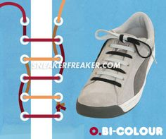 19 Best Cool Ways to lace your sneakers images | Sneakers