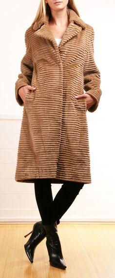 Oscar De La Renta Coat.