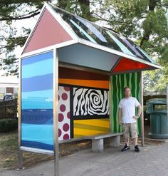 David Kessler Article Outdoor Art Installation