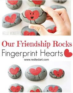 Fingerprint Heart, Our Friendship, Fathers Day, Valentines Day, Crafts For Kids, Valentine's Day Diy, Crafts For Children, Kids Arts And Crafts, Father's Day