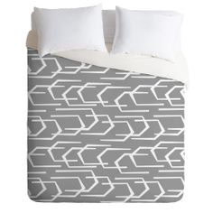 Heather Dutton Going Places Slate Duvet Cover | DENY Designs Home Accessories