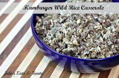 Slow Cooker Hamburger Wild Rice Casserole: If you are looking for a comforting meal to come home to after a long day, then make this Slow Cooker Hamburger Wild Rice Casserole for dinner this week. This hamburger casserole with rice is a filling and delicious meal. | AllFreeSlowCookerRecipes.com
