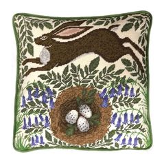 Bring a little bit of wildlife style into your home with this Spring Hare tapestry cushion panel kit from Bothy Threads.