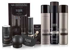 Toppik offers a full line of products for thinning hair whether you're looking for hair thickening or volume.