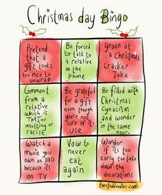 Christmas Day Bingo