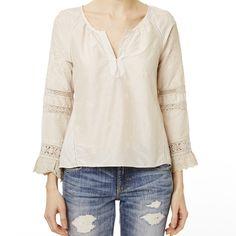 earhart shirt LIGHT PORCELAIN
