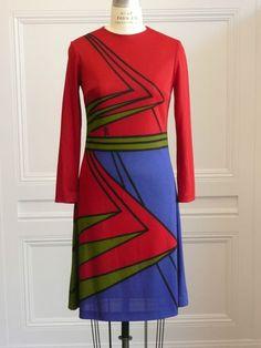1970's Super RARE Vintage Signed Roberta Di Camerino Dress   eBay