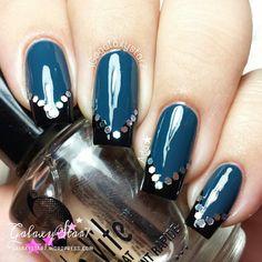 Instagram photo by galaxystar7  #nail #nails #nailart