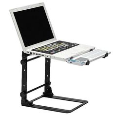 Magma Laptop Stand 2.1 With Carry Pouch (black) (B STOCK) at Juno Records
