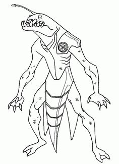 Ben 10 2 Ausmalbilder Coloring Pages For