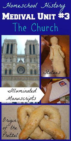 Illuminated Manuscripts, Medieval Statues, Origin of the Pretzel #historyisfun #homeschooling