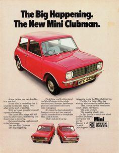 1970 Austin/Morris Mini Clubman