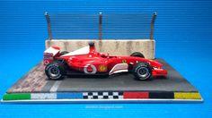 Diorama Indianapolis_Ferrari F2002 V10 (Carrera) #slot #diorama #indianapolis #brickyard #brick #finishline #indianapolismotorspeedway #base #indy500 #f1 #scalextric #ninco #carrera #miniature #modelism #hobby #modelismo #ferrari #f2002 #v10 #F1 #fia #schumacher #keepfightingmichael #italiancar