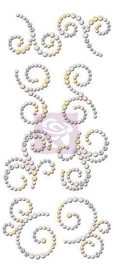 Mini Swirls Rhinestones - Divine